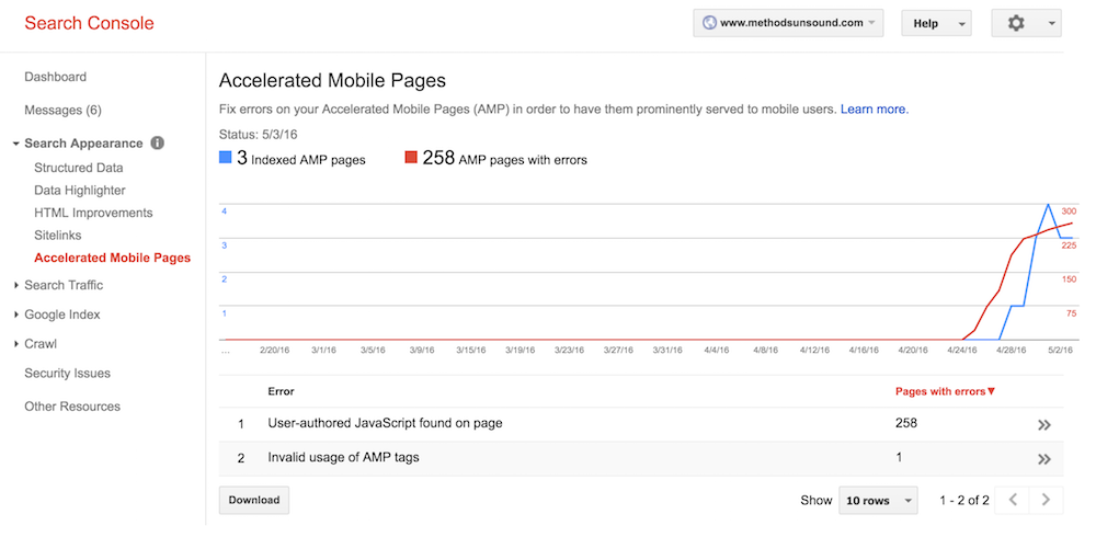 Search-Console-Accelerated-Mobile-Pages-report.
